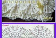 Κουβερτακια  πλεκτα.!! / Κουβερτακια και κουβερτες πλεγμενα με το βελονακι.Υλικα,σχεδια στη Γιουλη Μαραβελη,τηλ 2221074152