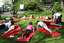 Kids yoga parties