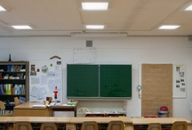 "Breganzona Elementary School - Lugano (2012) / The ""New Light, New Spaces"" lighting project"