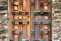 drzwi okiennice