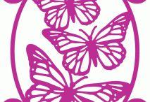 wzory motyle