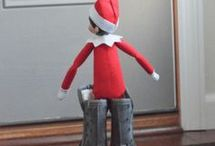 Elf on the Shelf and other Decorations
