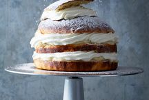 cake / Swedish Semla Layer Cake