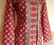 style dress of batik