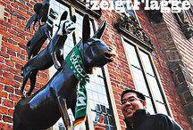 """prizeotel zeigt Flagge für #WerderBremen / """"Werder braucht Bremen und Bremen braucht Werder!"""" Das Team von prizeotel Bremen-City unterstützt die Bundesliga-Mannschaft von Werder Bremen.  / by prizeotel"""