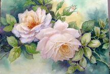 Porcelain Art flowers