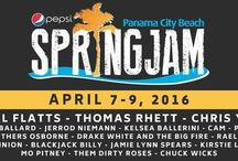 Pepsi SpringJam Panama City Beach, FL / Emerald Beach Properties is a proud Preferred Lodging Partner for this fabulous event!