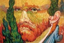 Oleg Shuplyak optical illusions / These amazing optical illusions have been created by Ukrainian artist.