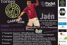 I TORNEO GABRYBET / Primer torneo de Padel patrocinado y organizado por GabryBet.com. ¡Apuntate!