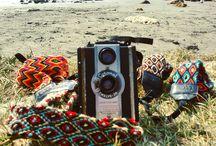 Accesorios para Cámaras / Correas Wayuu para cámaras  Ahora en Cartagena
