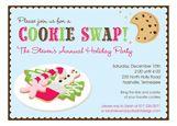 Cookie Exchange Invitations