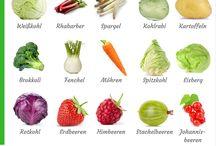 Obst und Gemüse/tiere