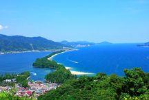 "One of Japan's Three Most Scenic Views! The ""Bridge in Heaven""! Amanohashidate"