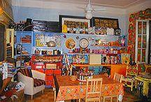 Los Ojos artist's studio