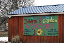 Outdoor Learning Gardens / Promoting gardening beyond the classroom