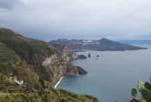 The Aeolian Islands - Le Isole Eolie - Sicily/Sicilia / A marvellous tour reveals the scenic beauties of the Aeolian Island, which were declared a UNESCO World Heritage Site in 2000,/ Un meraviglioso tour alla scoperta delle bellezze paesaggistiche delle Eolie, nominate nel 2000 patrimonio dell'Umanità dall'Unesco.
