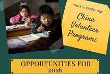 Volunteer in China