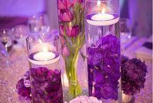 bordo/ purpura i fiolet w złocie