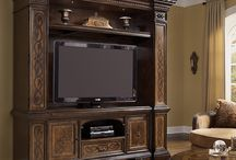 Home Entertainment: Netflix & Chill / Entertainment and Media Consoles from A.R.T. Furniture