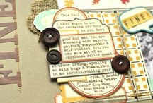 journals and Scrapbooking / by Nicole Y-D