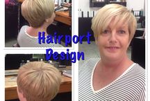 Short hair / Styles by our talented stylist of short hair