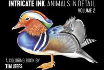 Volume 2: Intricate Ink Animals In Detail