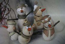 Figurky, keramika