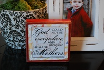 Mother's Day Ideas / by Poppy Seed Projects {Poppy Seed Projects.com}
