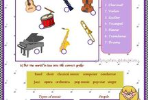 Music Education / lessons & activities for elementary music education / by Shalain Smith