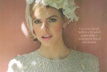 Winter Glamourous Wedding Ideas / Matrimonio d'inverno in bianco canfido: uno stile glamour, raffinato e al contempo romantico.