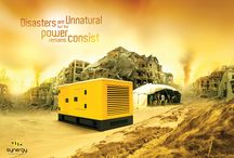 SYNERGY CREATIVE AD CAMPAIGN / Disasters are Unnatural, But the power remains Consist..!!