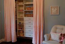 Bedroom - Curtain Closet