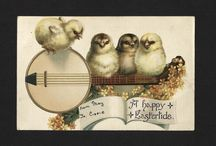 Easter / A selection of Easter cards from the 19th century and on.