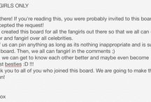 Fangirls Only / Just a board where we can pin cute photos of celebrities and just fangirl together! ^.^