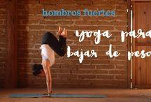 yoga p/ bajar de peso hombros fuertes