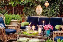 Outdoor Inspiration / patio/deck decor and design