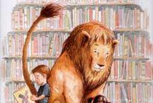 Cuentos, libros y bibliotecas / Relatos que ayudan al niño a formarse como lector y usuario de una biblioteca.