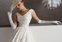 1950's Just Plain Dotty / Pretty 1950's Dresses in Polkadots