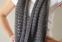 lace infinity cowl scarf
