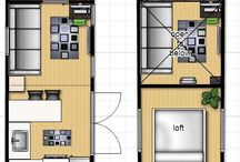 Tiny loft & studio ideas