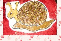 Activité : insectes // assistante maternelle / Assistante maternelle nounou enfant crèche RAM MAM petite enfance bébé activité et jeu chenille escargot limage coccinelle mouche fourmi insecte araignée nature