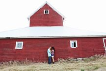 Barn and Country Engagements Photo Shoots