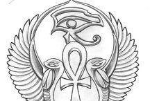 egyptian tatuajes