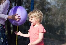 Trampoline Fun / Images of children having fun on trampolines- they always make us smile.