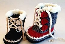 Boots to crochet