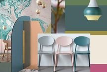 Mood Boards / To inspire you for color harmonies, for interior styles