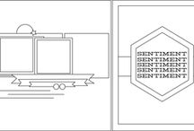 Scrapbook Sketches / From websites as Studio Calico