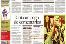 Visita de EPN a la Ibero vista por medios impresos y digitales