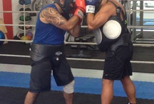 Boxing for health and fitness. / My training regime for a healthy body.