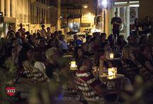 Fescine de Verano / Proyecciones al aire libre en la céntrica Plaza Horno de San Gil, con gran afluencia de público. Fecha: 28 de agosto de 2015. Fotos: Raquel Salillas